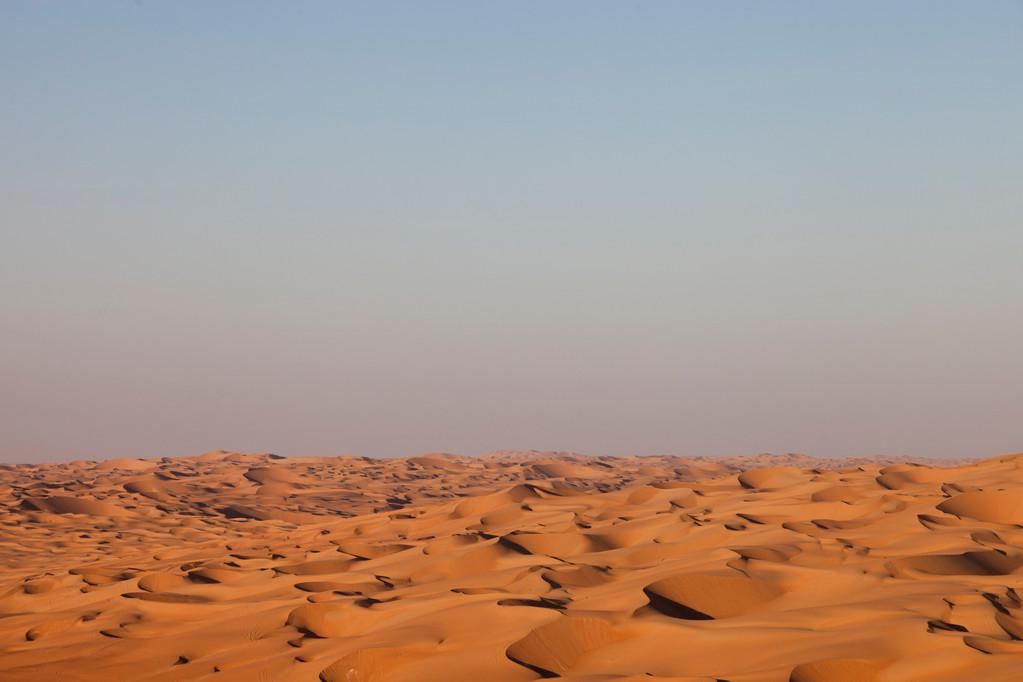 die grösste Sandwüste der Welt
