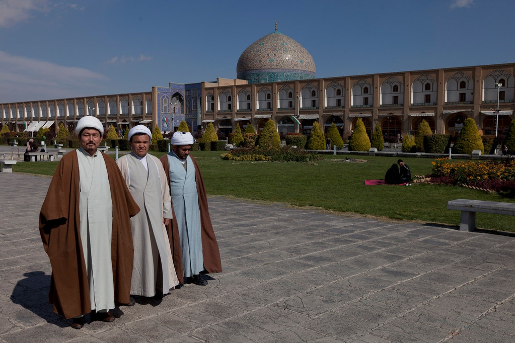 drei afghanische Touristen