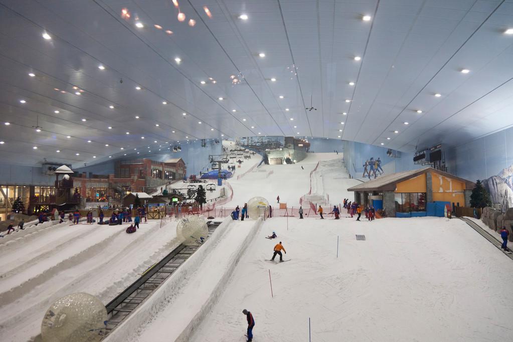 Skihalle...