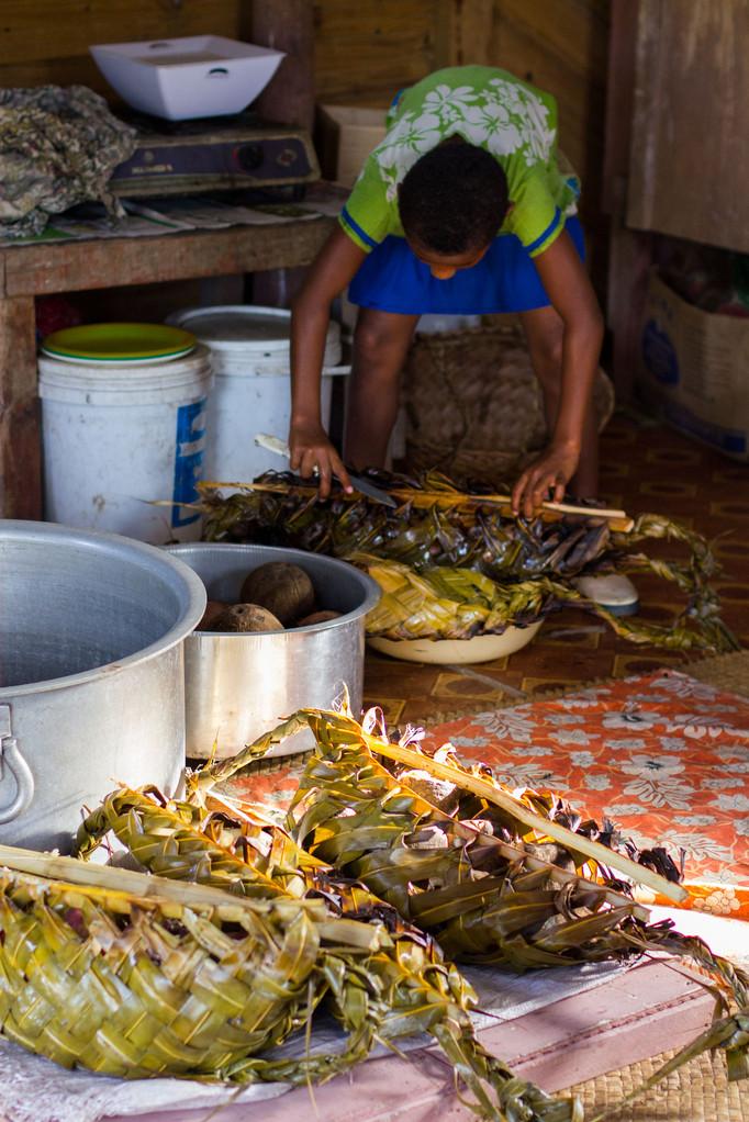 ein fijianisches Gericht