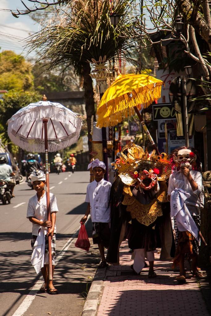 Tempelfest in Ubud