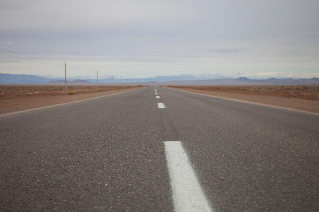 wir starten in die Wüste....