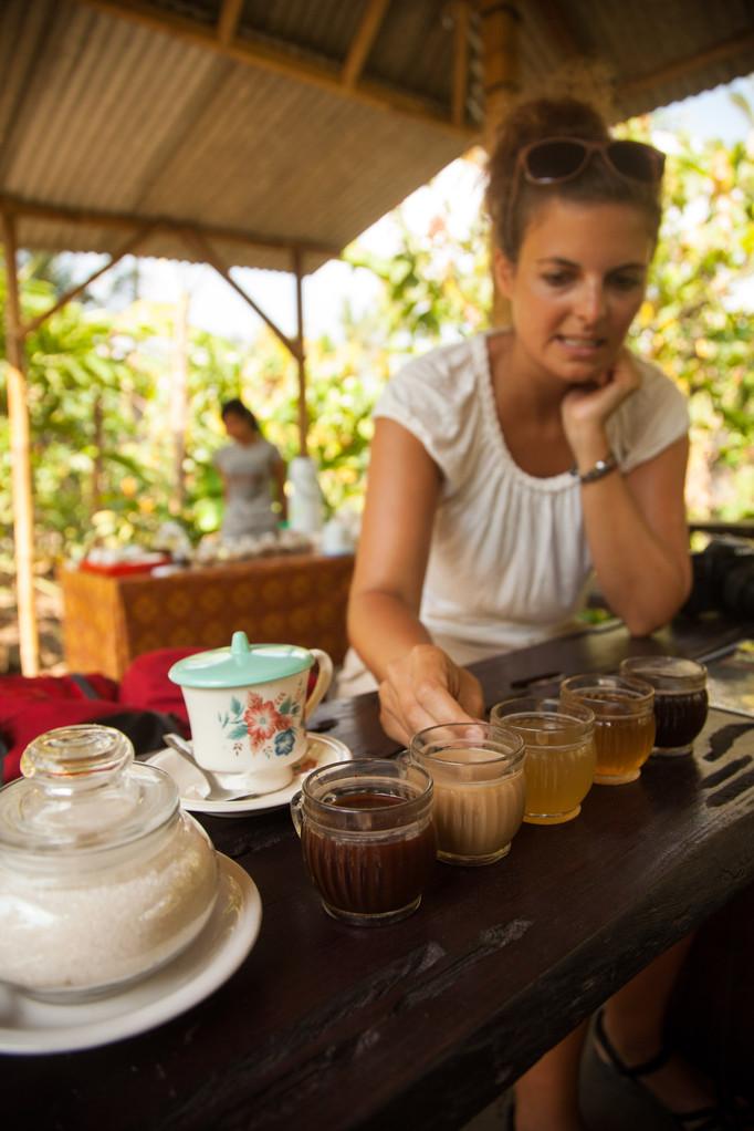 Kaffee Degustation