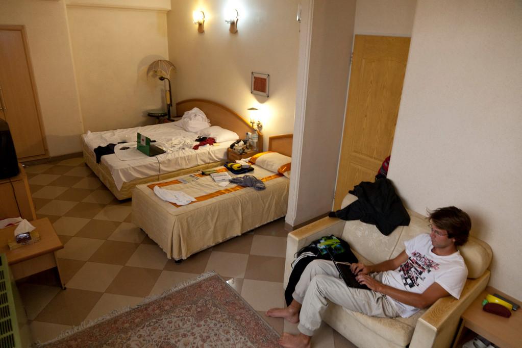 unsere Hotelsuite in Shiraz