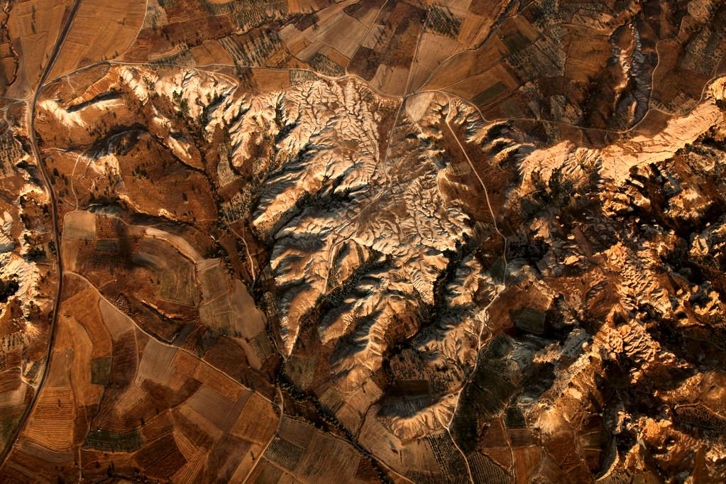 Blick aus 100 Metern Höhe