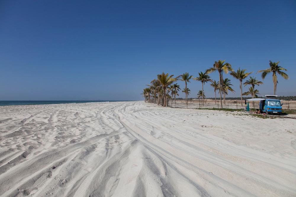 am Strand von Salalah