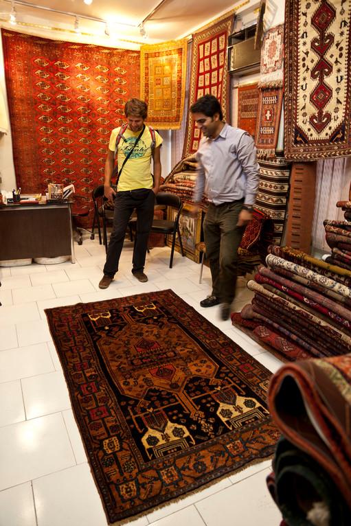 beim Teppichhändler...