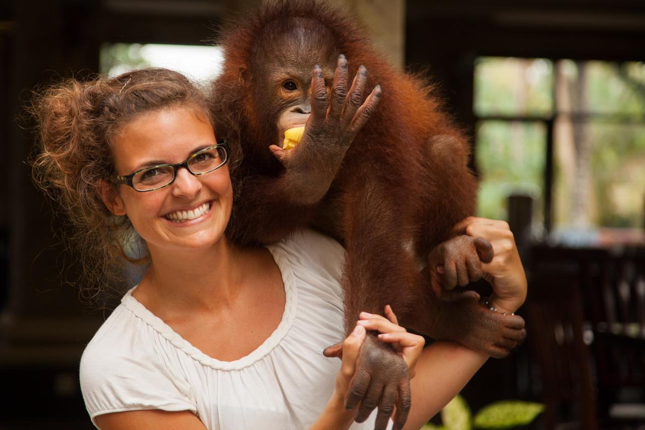 Nina & die Affen Teil 2