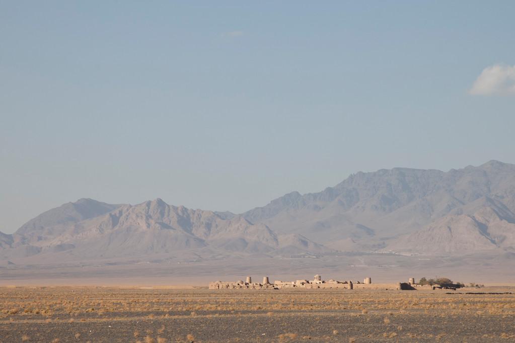 Karawanserei auf dem Weg nach Esfahan