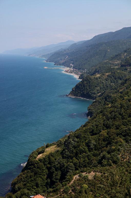 An der Schwarzmeerküste...