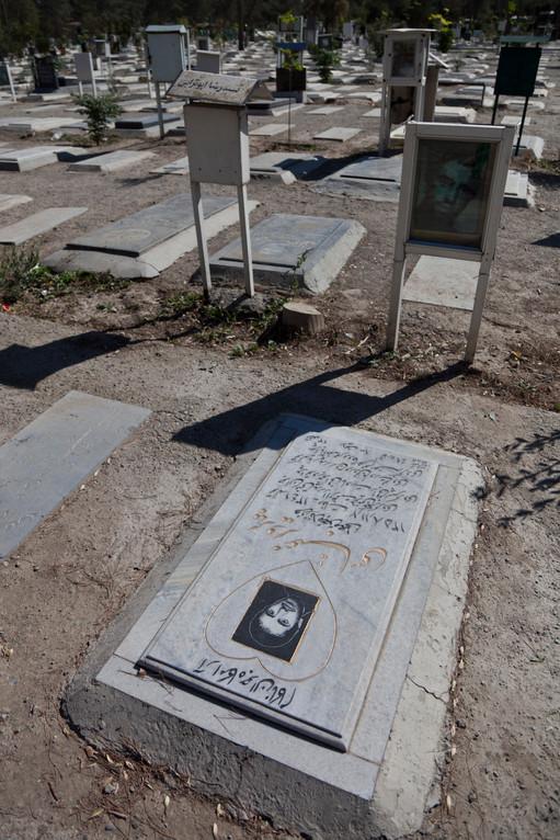 auf dem Märthyrerfriedhof