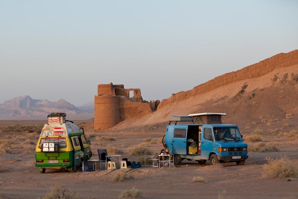 letzte Nacht in der Wüste