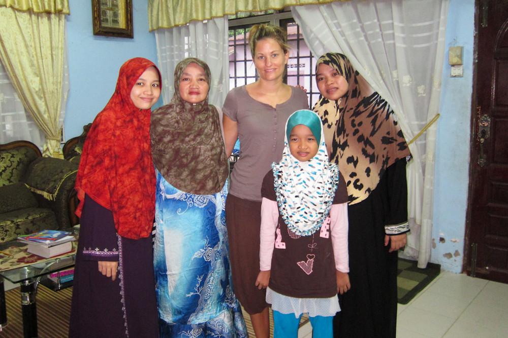 zu Gast beim Imam und seiner Familie