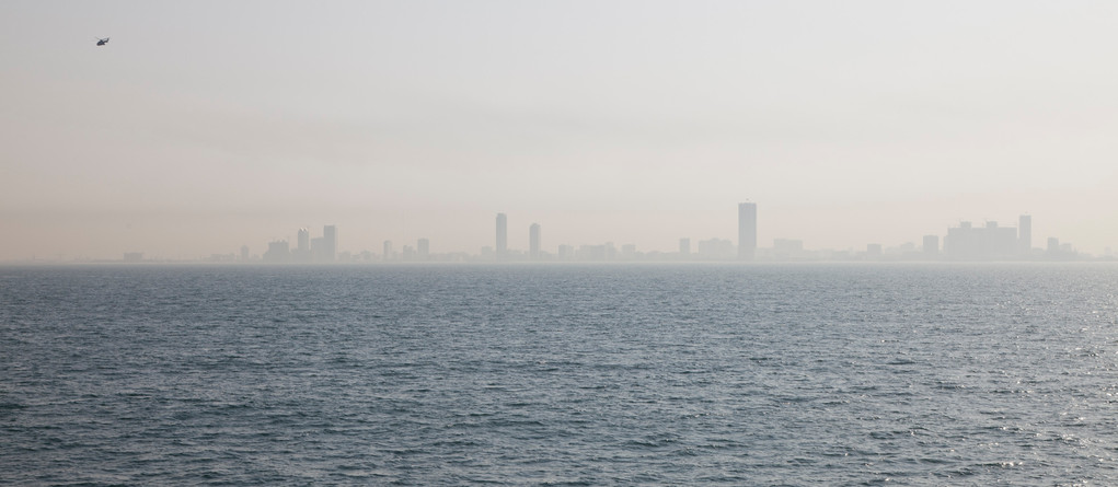 Sharjah taucht am Horizont auf