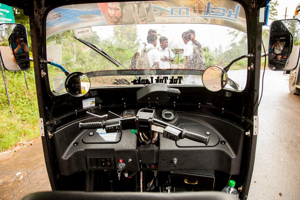 mit dem Tuktuk unterwegs...