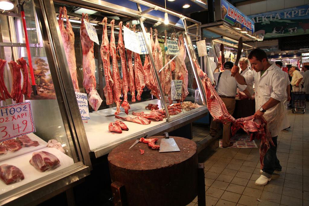 auf dem Fleischmarkt