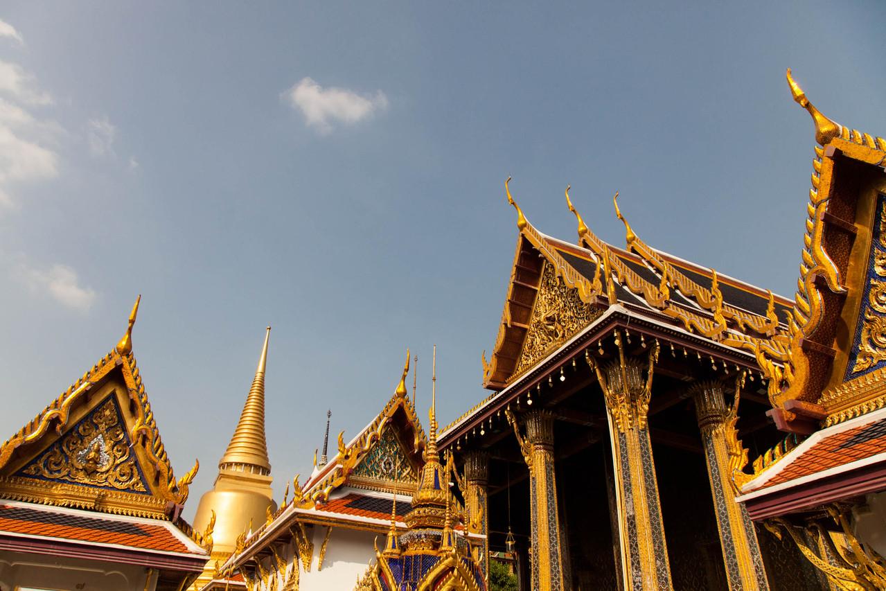 Wat Phra Kaeo, der grosse Palast