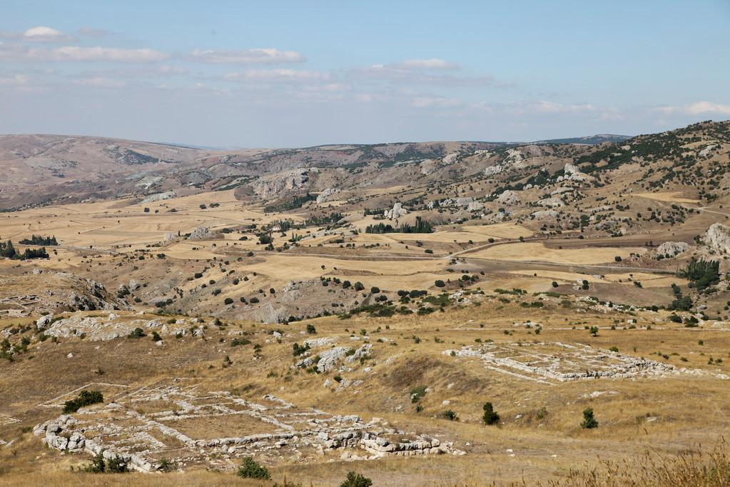 Hattusa, Hauptstadt der Hethiter.