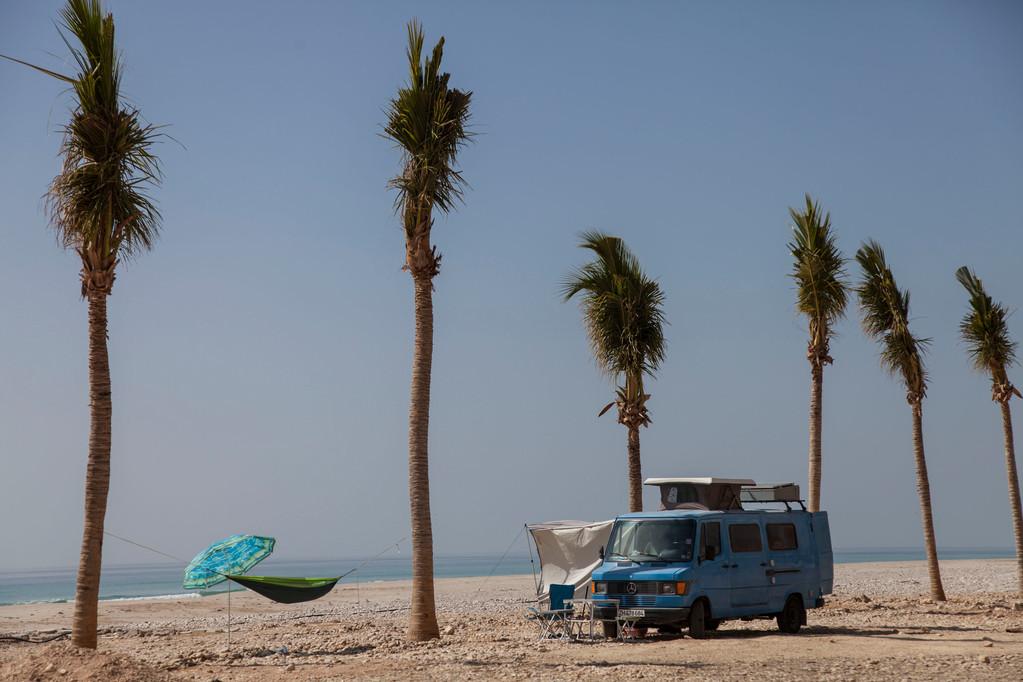 am Strand von Rakhyut