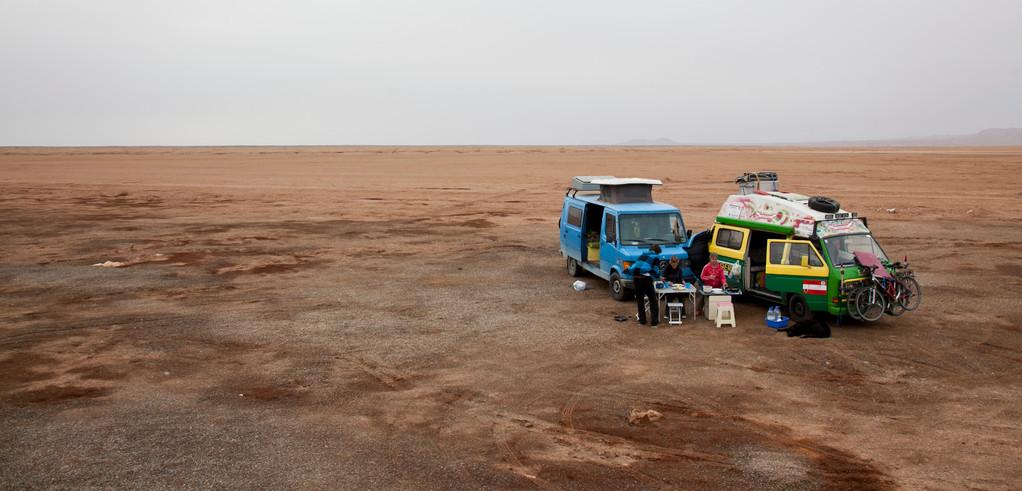 erste Nacht in der Wüste