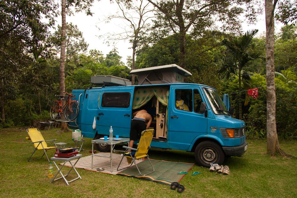 unser Camp im Dschungel