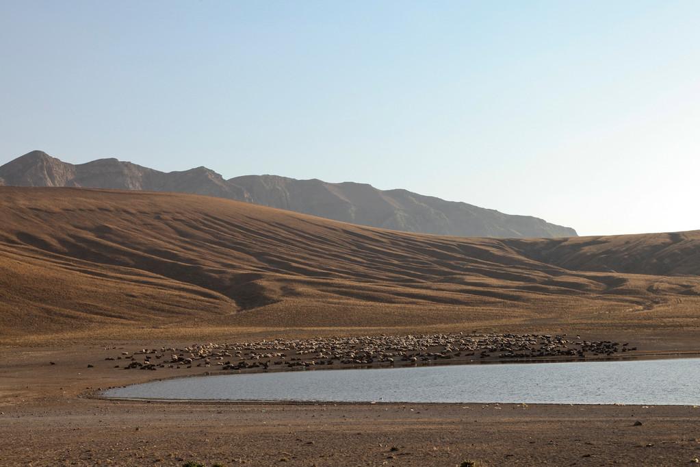 sind drei Seen entstanden.