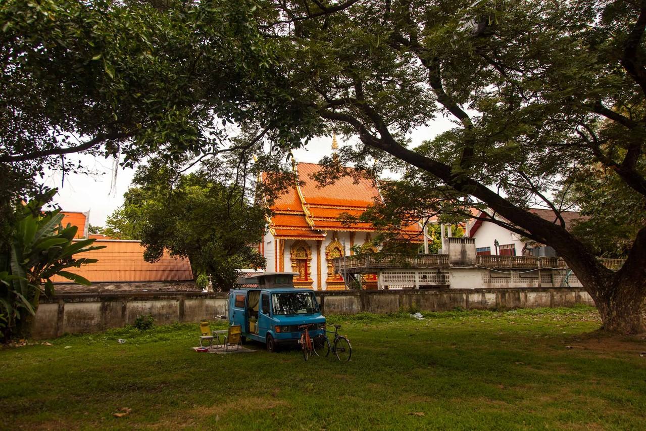 unser Schlafplatz in Chiang Mai