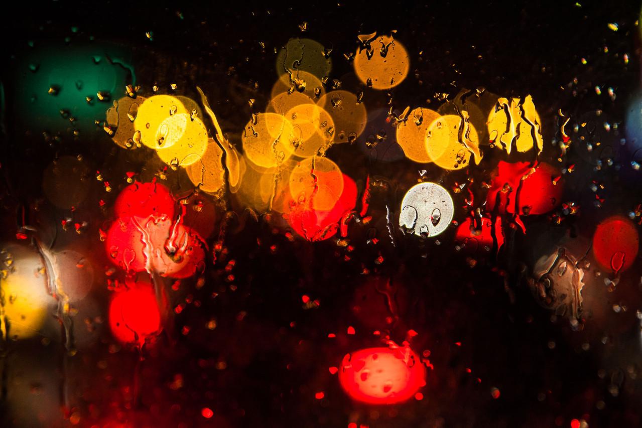 regnerische Heimfahrt