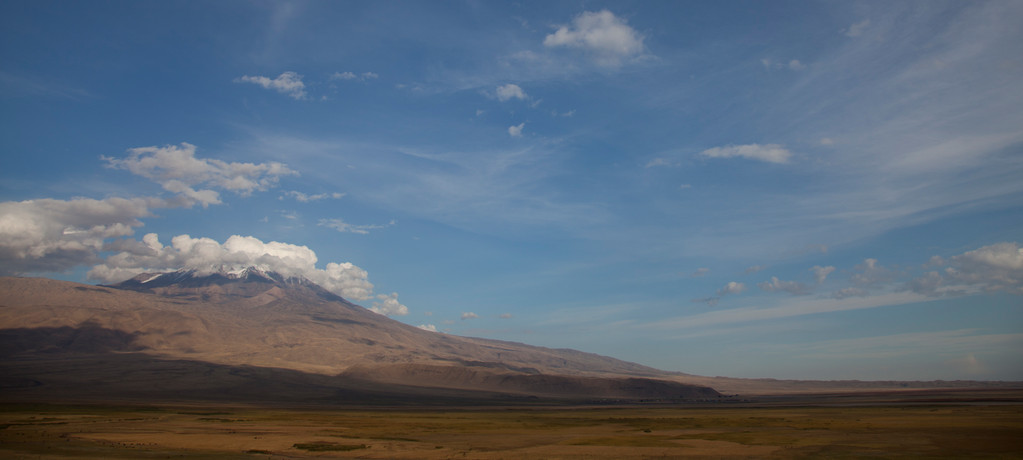 Ararat, höchster Berg der Türkei