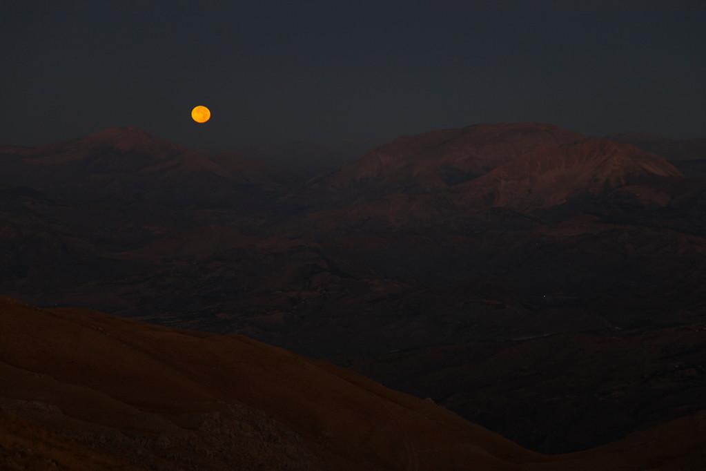 Monduntergang...