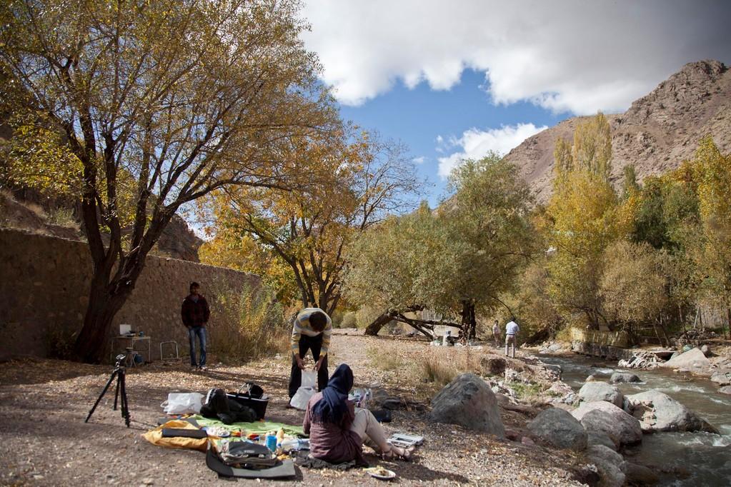 Picknick mit Azin und Houman...
