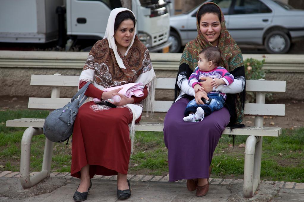 turkmenische Iranerinnen