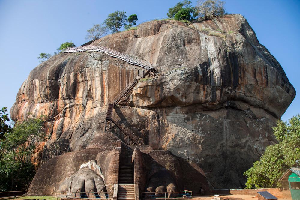 der Löwenfels von Sigiriya