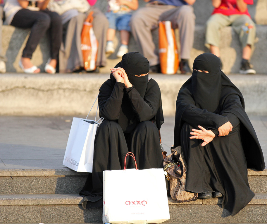 Viele Saudi-Arabische Touristen...