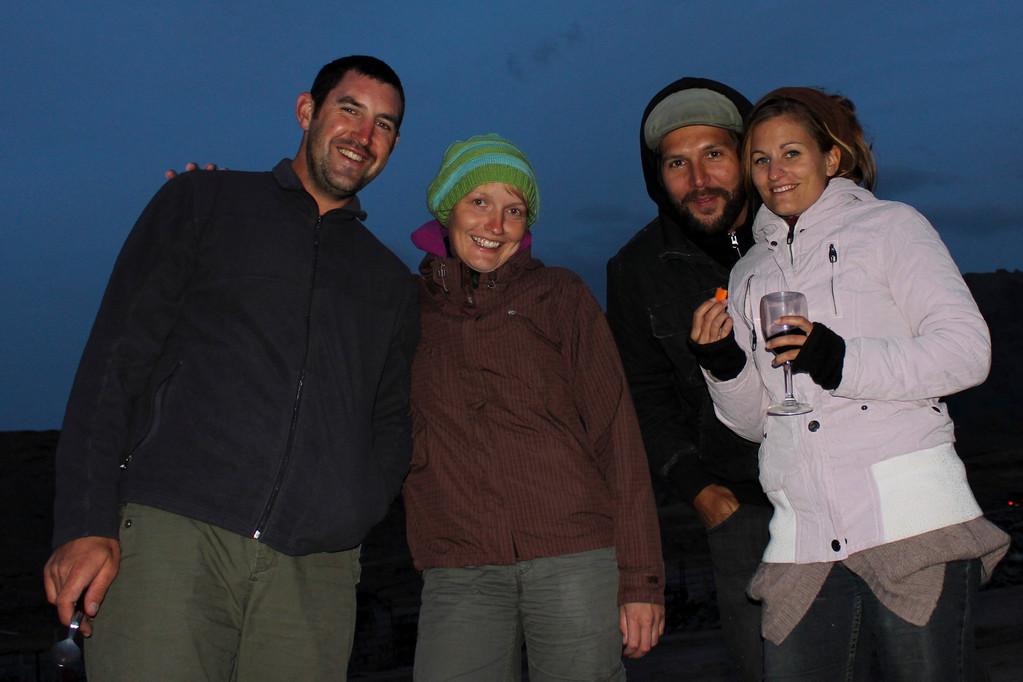Nachtessen mit Sandra und Manuel