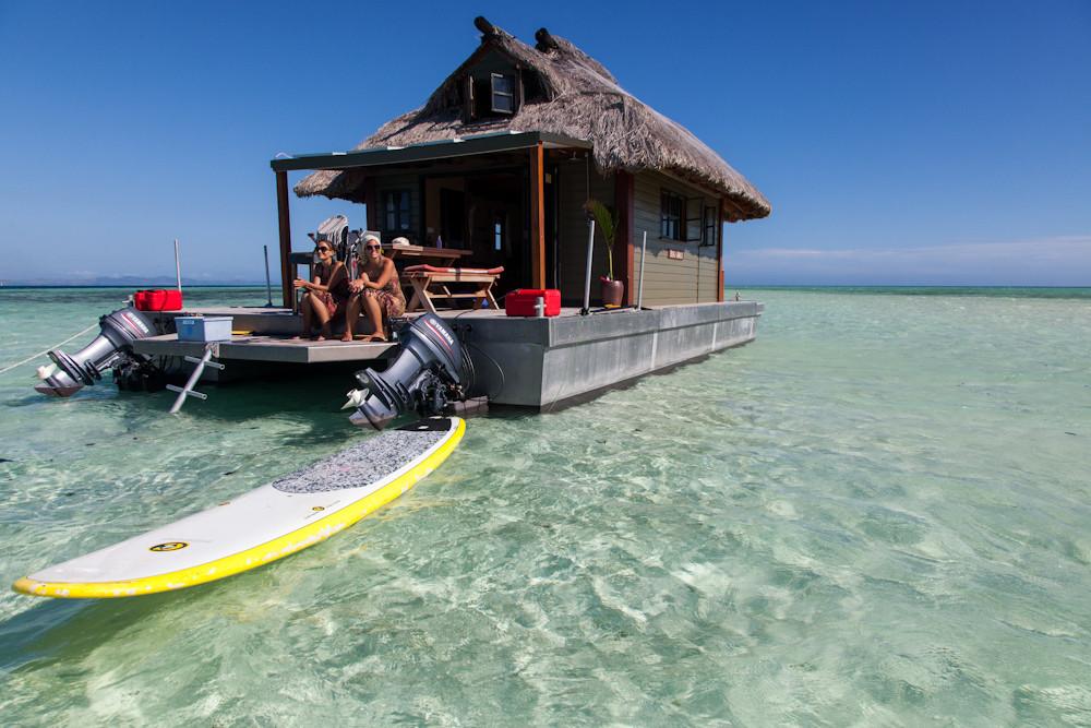 ...das coolste Hausboot im Pazifik :-)