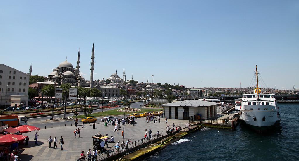 Schiffstour auf dem Bosporus
