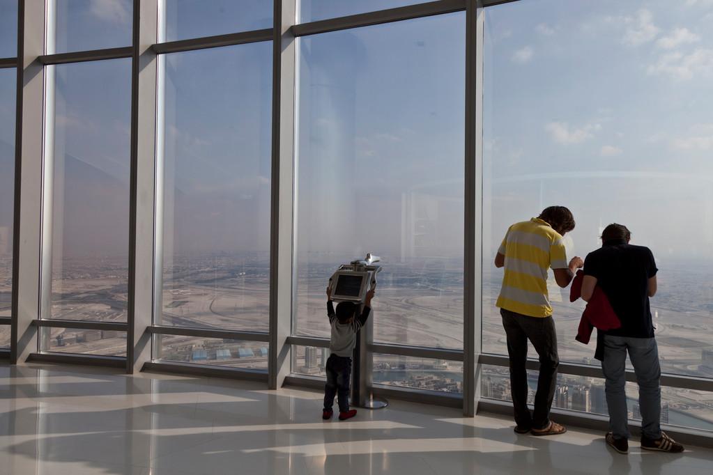 Ausblick vom 124. Stock