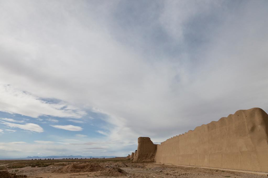 alte Stadtmauer von Damghan