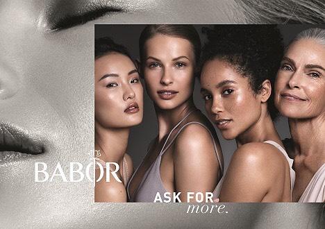Babor Kampagne / Hair Nadine Bauer