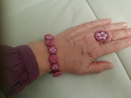 Armband und Ring