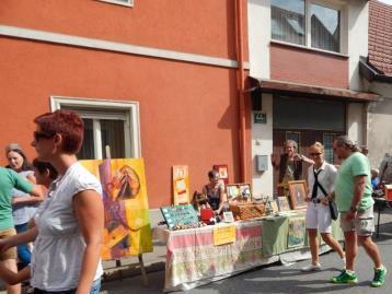 Hobbykünstlermarkt in Arnfels, Südsteiermark