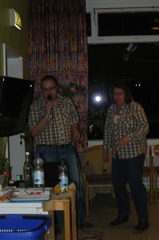 Karaoke! Live gesungen!