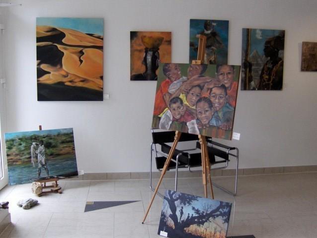 Ausstellung in der Galerie Weber Trier