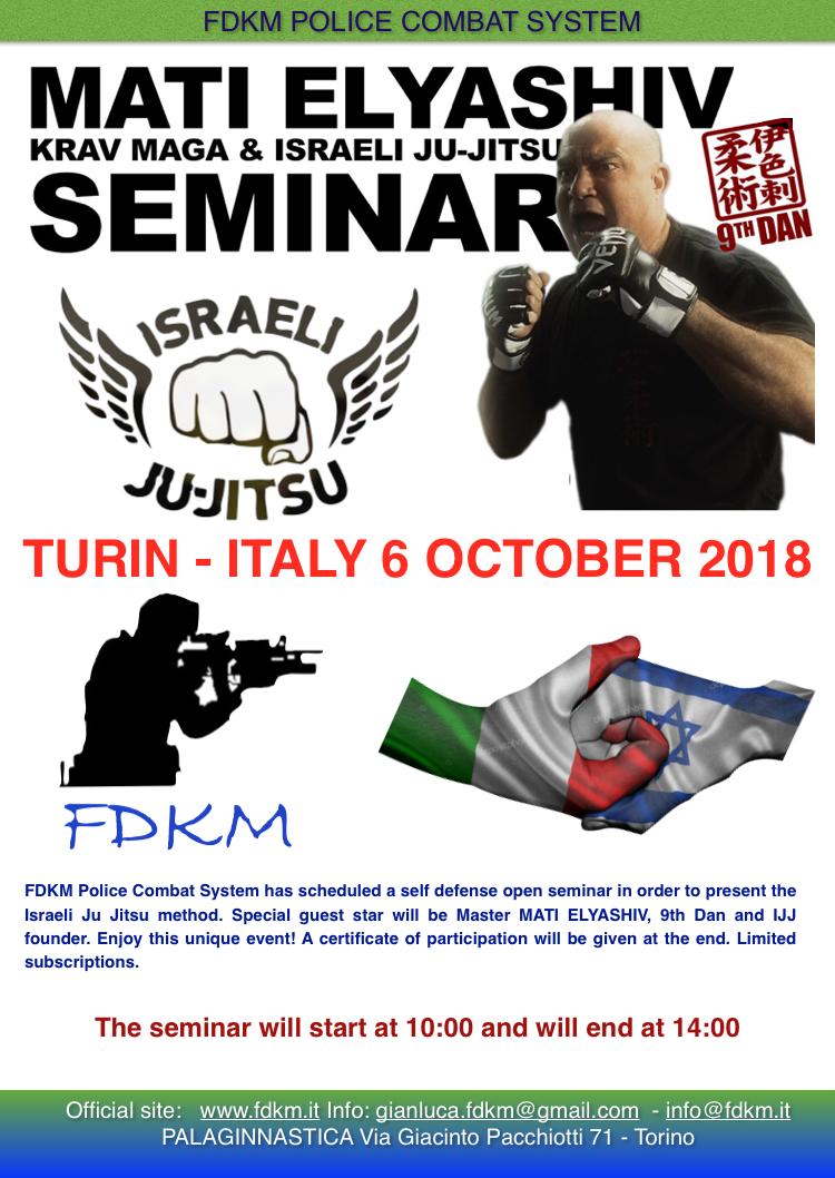 israeli ji-jitsu fdkm seminario