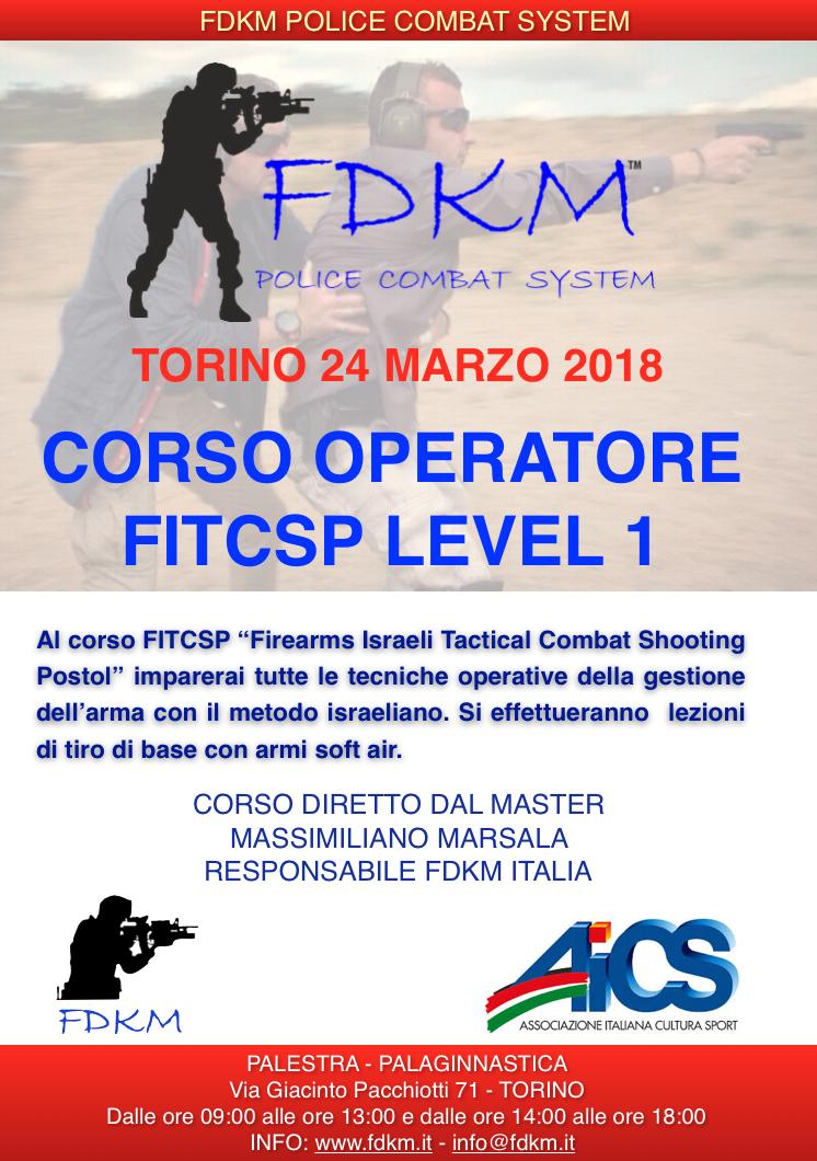 CORSO FITCSP TORINO 24 MARZO 2018