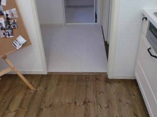 キッチン⇔洗面室