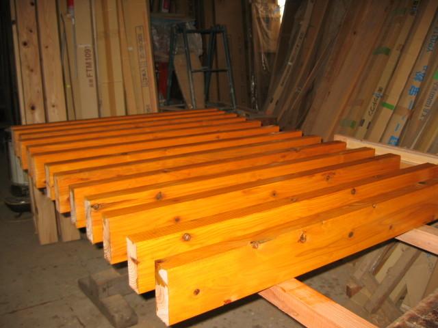 杉材 キシラデコール木材保護塗装1回塗り