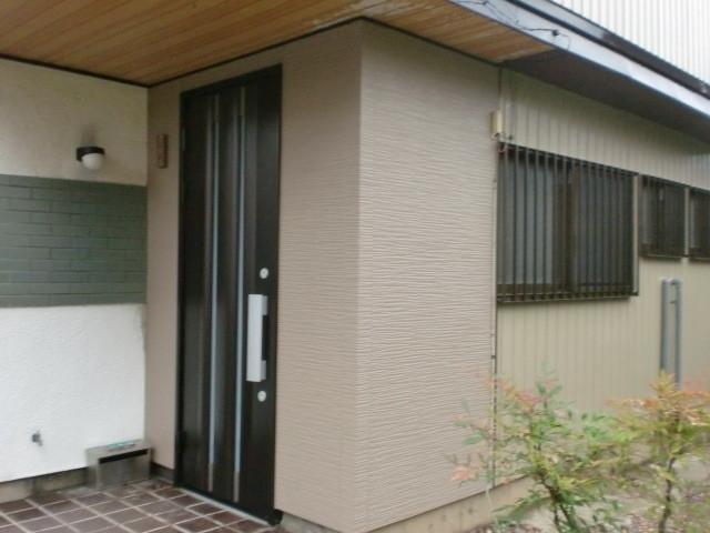 施工後 中連窓 金属アルミ建具 (三協立山アルミ)