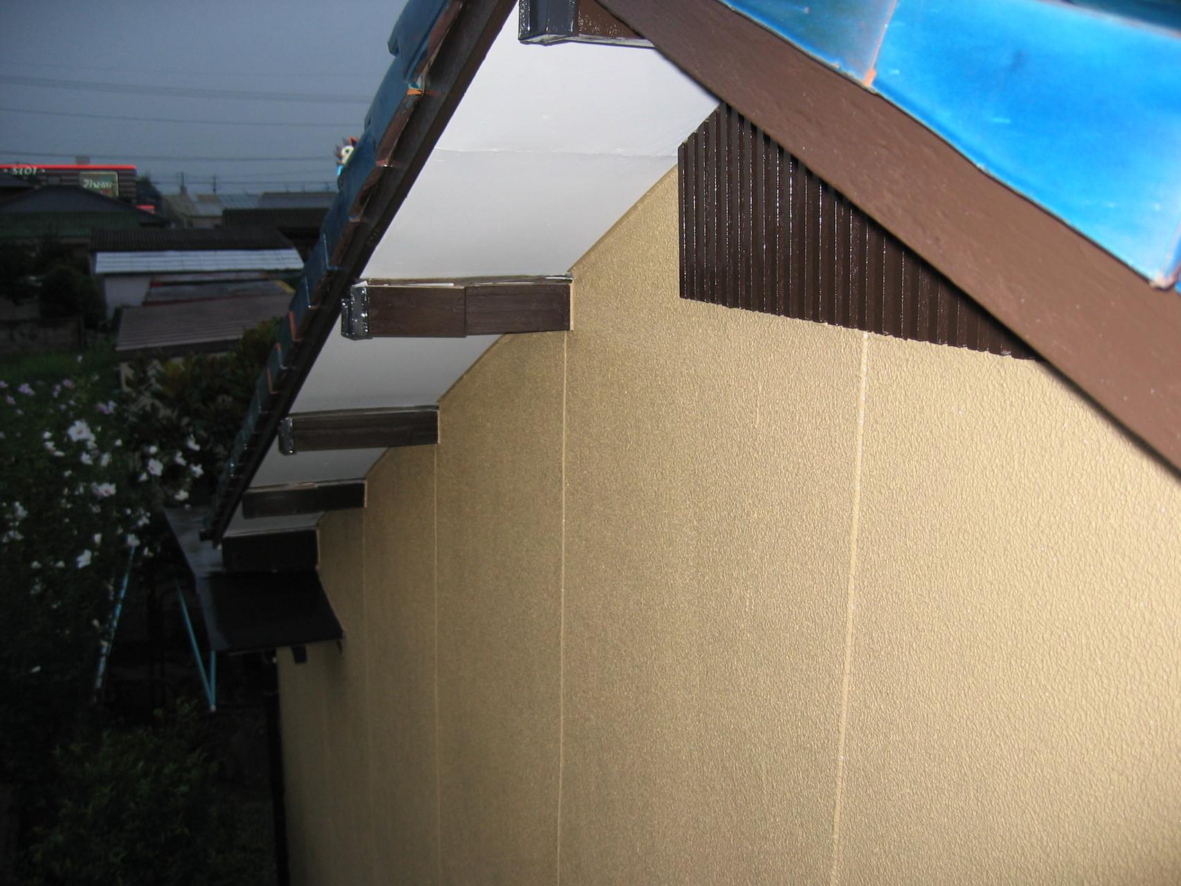 施工後 壁、木部